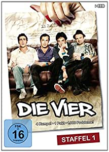 Die Vier - Staffel 1 (Les invincibles) [3 DVDs]