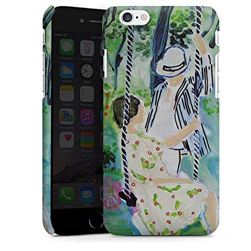 Apple iPhone X Silikon Hülle Case Schutzhülle Frau Muster Blumen Premium Case matt