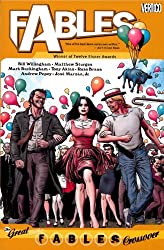 Fables Vol. 13: The Great Fables Crossover by Bill Willingham (2010-02-09)