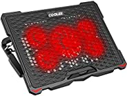 """AICHESON Laptop Cooling Pad for 17.3"""" Notebook, Red 5"""