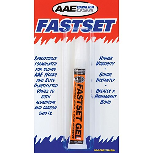 New Arizona Archery Glue Fastset Gel 3 Gram For Nocks & Vanes Test