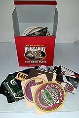 Idea Regalo - Set di 100 sottobicchieri da birra in confezione regalo.