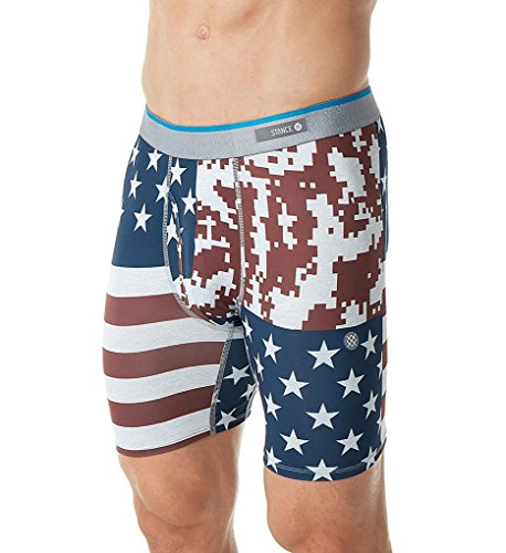Stance Boxers - Stance Digi Camo Flag Boxers - Red (Flag Camo)