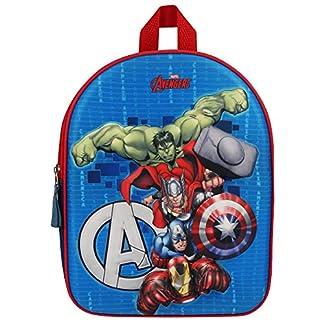 Avengers 202-7238 Fight The Foes – Mochila Infantil 3D (31 cm)