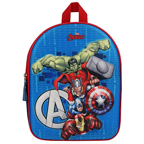 Avengers 202-7238 Fight The Foes - Mochila Infantil 3D...