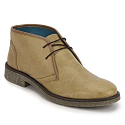 Knotty Derby Mens Jordan Desert Camel Boots - 10 UK/India (44 EU)