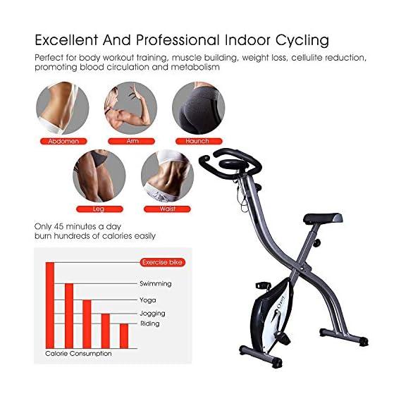 Sampri Fitness Cycle Pedal Exercise Bike Leg/Arm Portable Mini Exerciser Workout Bike (BIGCYCLE)