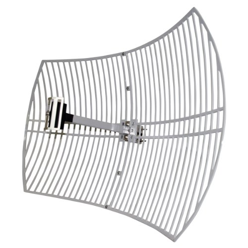 logilink-24ghz-4dbi-outdoor-n-type-female-connector-grid-parabolic-type-2-antenna
