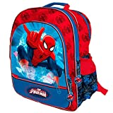 Spiderman Marvel Mochila 4 Cremalleras a/Carro 41x34x18,5 cms. Spid, Color 0 (Astro Europa AST0939)