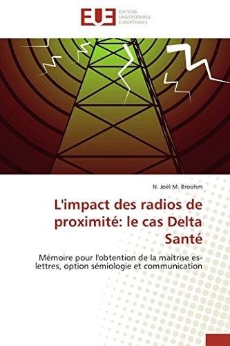 L'impact des radios de proximité: le cas delt...