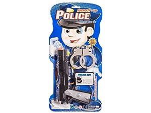 JUINSA Pistola Policía con Accesorios 22 cm Color Negro 95308