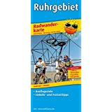 Ruhrgebiet: Radwanderkarte mit Ausflugszielen, Einkehr- & Freizeittipps, wetterfest, reissfest, abwischbar, GPS-genau. 1:100000
