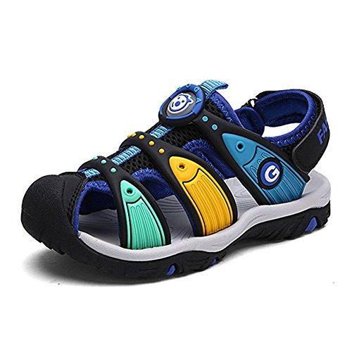 Gloria JR Niños Verano Oxford Correa Bump Toe Sandal For Kid (24...