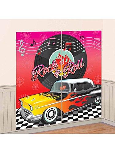RocknRoll Raumdeko Wandfolie 50er Jahre