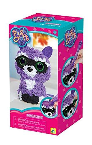 The Orb Factory Plushcraft Raccoon (3D) - Mapache de juguete (1301520)