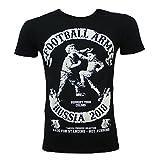 Yakuza Premium T-Shirt WM Football Army Russia in Schwarz Größe L