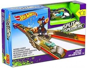 Hot Wheels DJC31 - Spacca Limiti Lanciatore Ninja, Multicolore