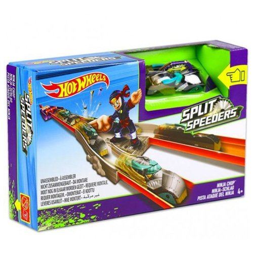 Hot Wheels Split Speeders Ninja Launcher