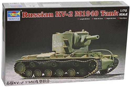 Trumpeter 07235 Modellbausatz Soviet KV-2 M1940