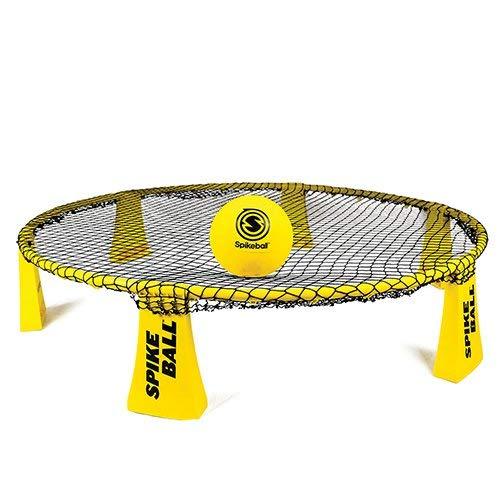 Spikeball Rookie-Set - 50 {d88ba1b0ba9585f20916eff8b30be77f848aa1684e3bdd18e123e09af96092d4} größeres Netz und Ball - für draußen, drinnen, Hof, Rasen, Strand - für Kinder ab 12 Jahren geeignet
