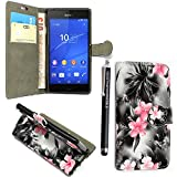 Kamal Star® Sony Xperia C4 / C4 Dual PU Leather Magnetic
