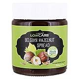 Carbzone Crema de Avellanas Belga Baja en Carbohidratos - 250 gr (Paquete de 2)