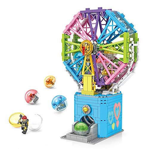 der Spielzeug Riesenrad Kleine Partikel Bausteine   Spaß Spaß Ei Maschine Puzzle Spielzeug Überraschung Geburtstagsgeschenk ()
