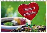 Herzerl Kalender (Wandkalender 2019 DIN A4 quer): verschiedene, lustige Herzerl (Monatskalender, 14 Seiten ) (CALVENDO Kunst)