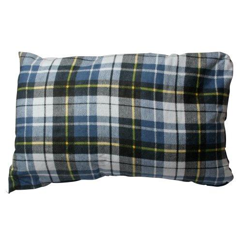 10T Camp Pillow 40x25cm Reisekissen Campingkissen Kopfkissen Schlaf-Kissen Sitzkissen mit integriertem Packbeutel zum umstülpen -