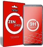 nandu I ZenGlass [2 Stück] Flexible Glas-Folie für Xiaomi Mi Max 3 Panzerfolie I Bildschirm-Schutzfolie 9H I (Kleiner Als Das Gewölbte Bildschirm)