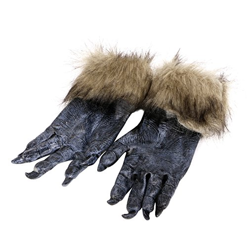 olf Pfoten Halloween Cosplay Handschuhe Gruselige Kostüm Theater Spielzeug ()