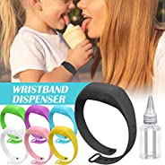 Hand Sanitizer Silicone Refillable Wristband Wearable Dispenser Portable Bracelet For Adult Kids For Outdoor H