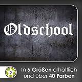 Oldschool Wandtattoo in 6 Größen - Wandaufkleber Wall Sticker