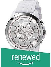 (Renewed) Esprit Analog White Dial Mens Watch - ES106401001#CR