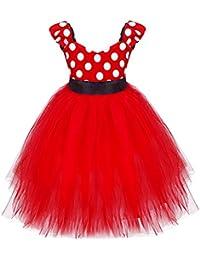 YiZYiF Costume Carnaval Déguisement pour Bébé Enfant Filles Robe à
