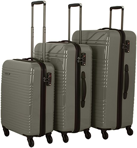 travelite Groovy 4-Rad Trolley-Set 3-tlg 04 anthrazit