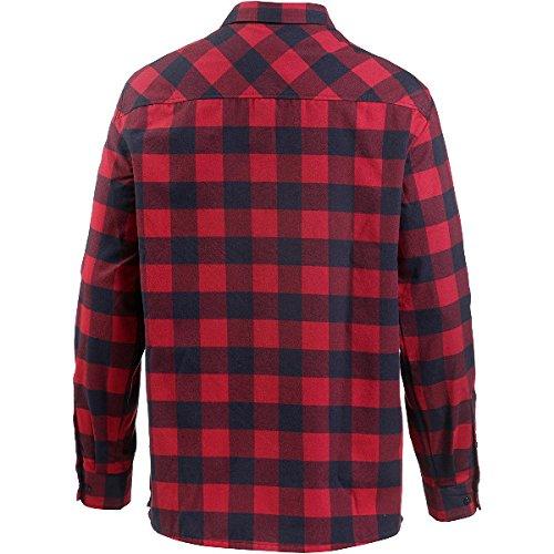 """Jack Wolfskin Herren Hemd """"Red River"""" Langarm rot (500) L"""