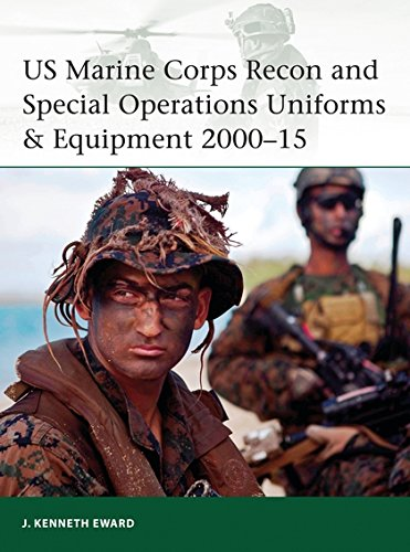 US Marine Corps Recon and Special Operations Uniforms & Equipment 2000-15 (Elite, Band 208) (Uniform Ww2 Marine)