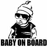 Neu Kleber Aufkleber Baby an Bord Abziehbild Universal Auto Tuning