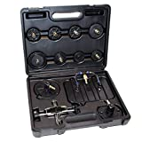 Adapter Set 11 tlg. für Druckluft Bremsenentlüfter Bremsenentlüftungsgerät