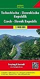 Tschechische - Slowakische Republik, Autokarte 1:400.000, freytag & berndt Auto + Freizeitkarten - Freytag-Berndt und Artaria KG