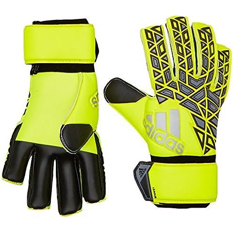 adidas Ace League - Guantes de portero para hombre, color amarillo / negro / gris, talla 10