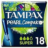 Tampax Compak Pearl Super Tampons–Pack of 2