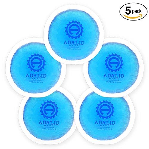 Ice Ice-pack (Klein Gel Ice-Packs mit Gewebeunterlage für heiße oder kalte Therapie zu behandeln verschiedene Schmerzen, Verletzungen, und mehr (flexibel, wiederverwendbar, & Mehrzweck))