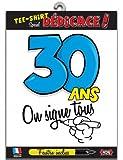T-shirt Age 30 ans - Taille Unique