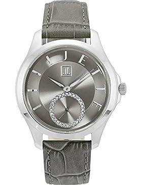 JETTE Time Damen-Armbanduhr Pleasure Analog Quarz One Size, grau, grau