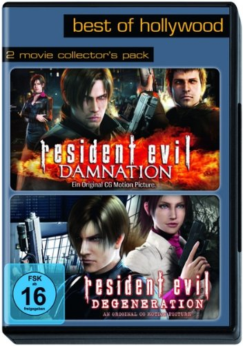 Best of Hollywood - 2 Movie Collector's Pack: Resident Evil: Damnation / Degeneration [2 DVDs]
