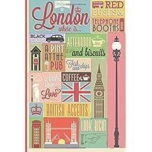 Londres Diario de viaje. Travel journal. Cuaderno exploradores. Wanderlust: Wanderlust Journals