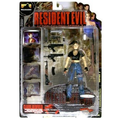 Palisades Resident Evil Action Figures Series 2 Claire Redfield Bloody Version Resident Evil Code Veronica by Resident Evil