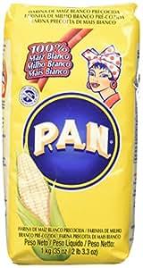 Pan Farina di Mais Bianca Precotta - 1000 gr( confezione da 10 pacchi)
